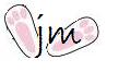 Joanie Mann Bunny Feet
